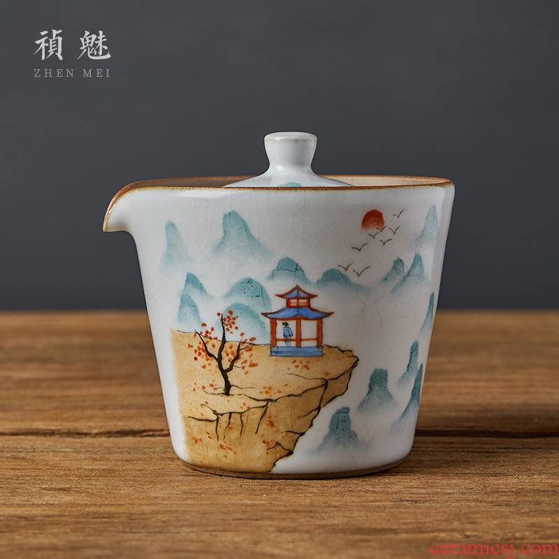 Shot incarnate all hand your up hand grasp lid bowl of jingdezhen ceramic cups kung fu tea set chick filter tea bowl