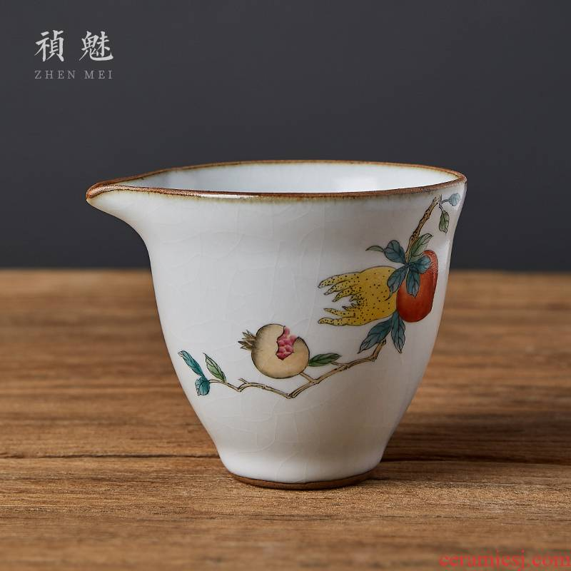 Shot incarnate your up open piece of bergamot jingdezhen ceramic fair keller kung fu tea accessories large tea sea points