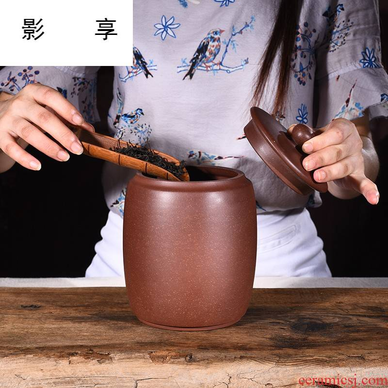 Shadow at yixing purple sand tea pot, and receives a cake gift boxes puer tea in bulk pack GF