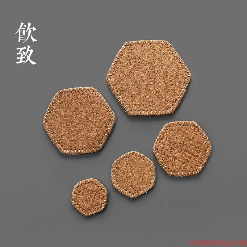 Ultimately responds to zen it a pot of tea tea antiskid dry terms mat pot insulation MATS saucer teacup pad