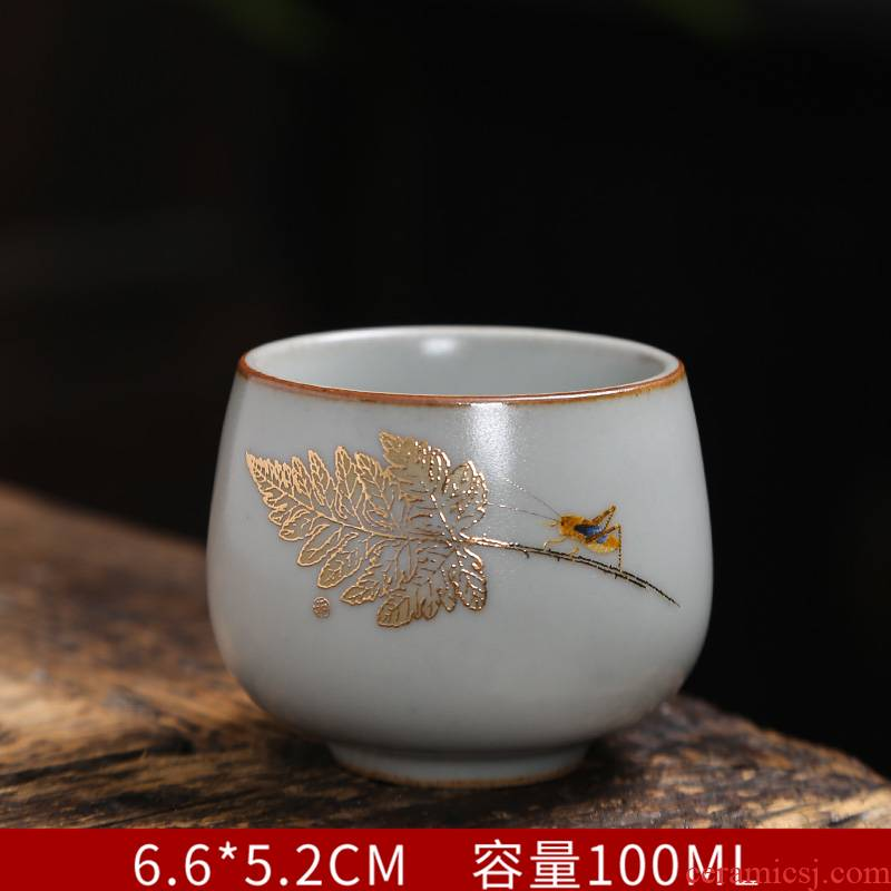 Your up sample tea cup cup pure manual coppering. As masters cup silver cup silver bladder single ceramic kung fu tea
