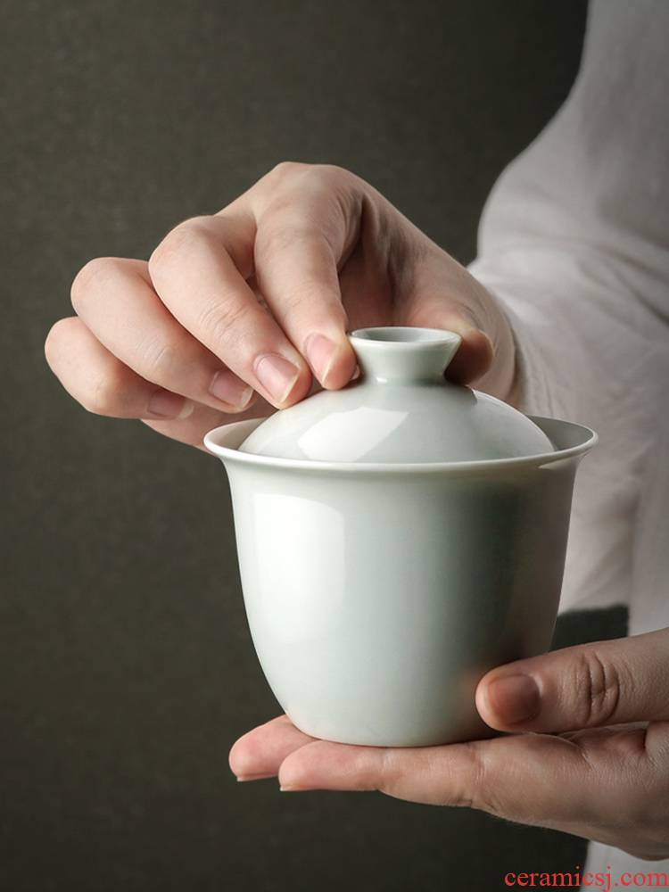 About Nine soil Japanese ceramics tureen household utensils sample tea cup jingdezhen zen cups a single shadow blue glaze kung fu