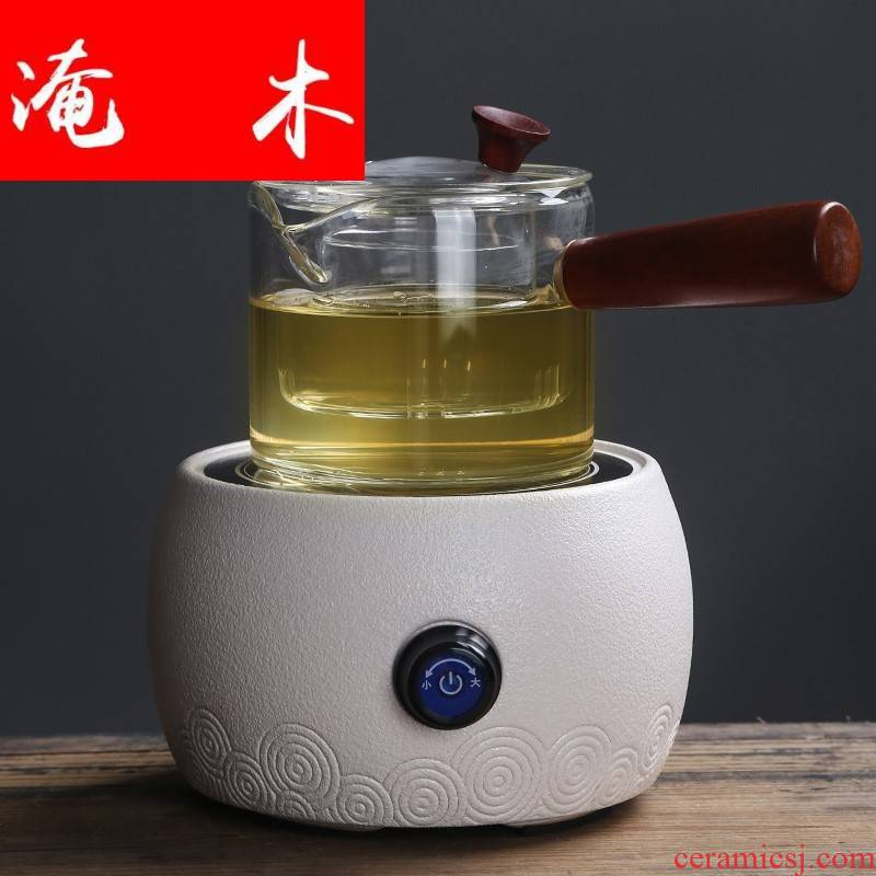 Submerged wood glass ceramic the boiled tea, the electric TaoLu black tea, white tea pu - erh tea boiled the mercifully tea stove suit household water side