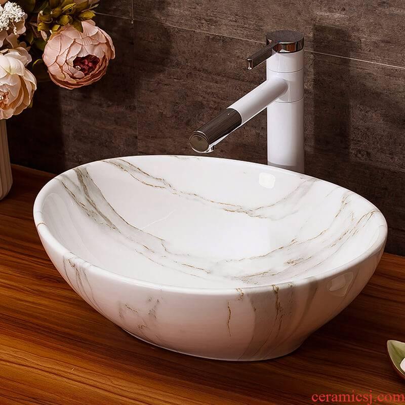 The stage basin sink bathroom home for wash basin hotel small basin suit art ceramic wash basin