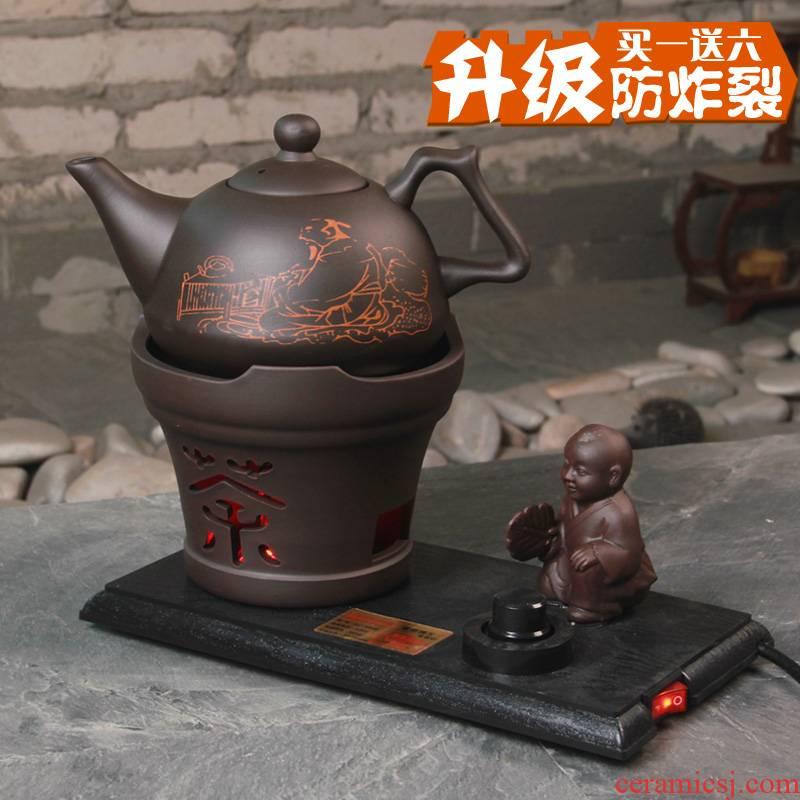 Coarse ceramic electric kettle water jug tea kettle boil tea, black tea violet arenaceous TaoLu kung fu tea stove teapot electricity