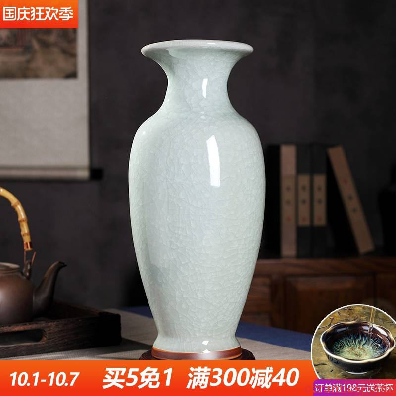 White antique up creative jingdezhen ceramics vase furnishing articles sitting room dry flower arranging flowers home decoration arts and crafts