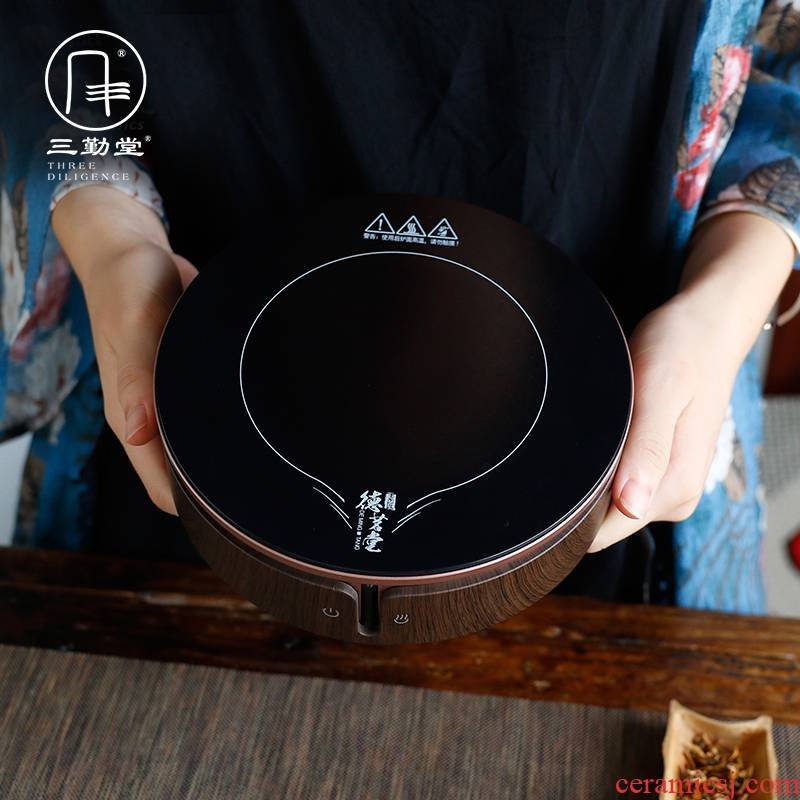 Three frequently hall electric TaoLu tea stove high - power household iron pot pot small cat 's eye burn hydropower S81030 ceramic furnace
