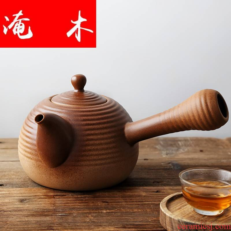 Submerged wood [fengming] cooking pot clay POTS electric TaoLu special ceramics along an abundant package mail kettle side handle
