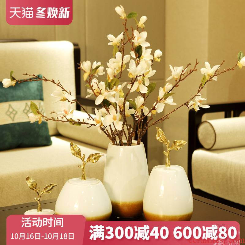 Modern European American ceramic household act the role ofing is tasted furnishing articles study between example wine sitting room porch soft decoration process