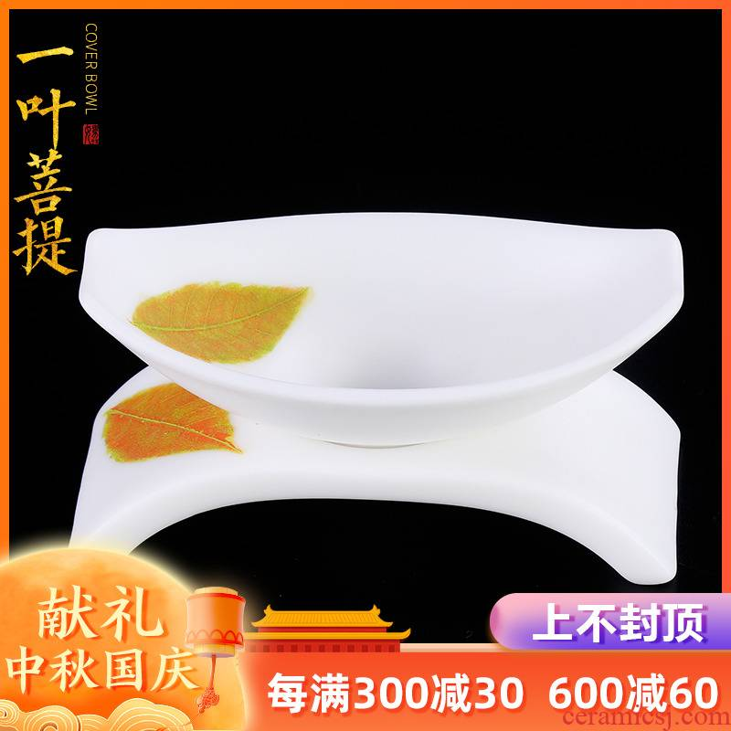 The Master artisan fairy guo - qin Chen konoha white porcelain tea filter) ceramic creative household manual kung fu tea accessories