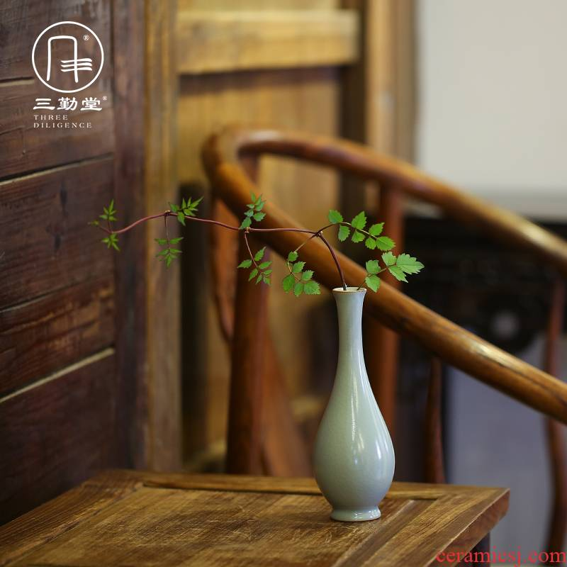 The three frequently your up with jingdezhen ceramic flower flower implement household act The role ofing is tasted kung fu tea tea furnishing articles S73025