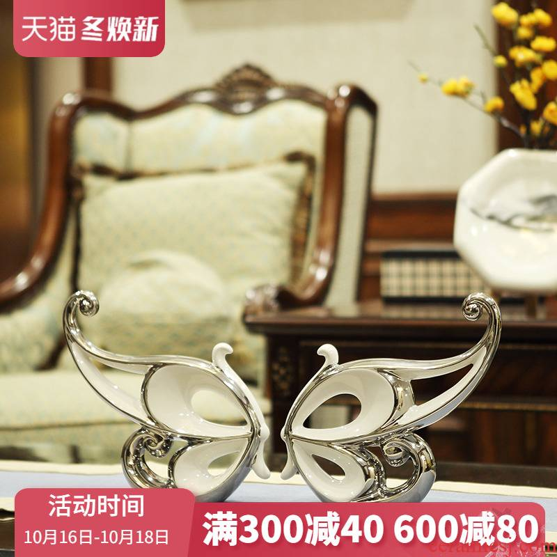 Ceramic creative wine accessories furnishing articles I and contracted sitting room porch example room TV ark, household act the role ofing is tasted