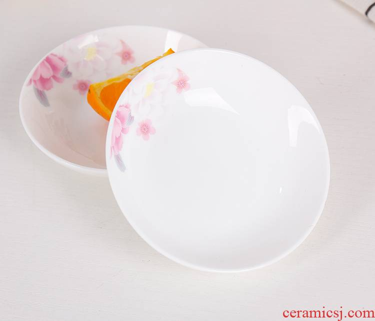 Flavour dish of household ceramic with small dip in soy sauce dish dish petals plate ipads plate fermented bean curd dab of hot pot dishes side dish