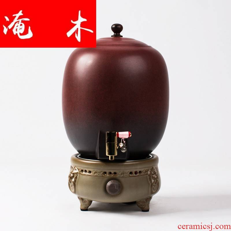 Submerged wood promotional ceramic teapot the extra large capacity boiled tea, the electric ceramic furnace temperature POTS office home sitting room
