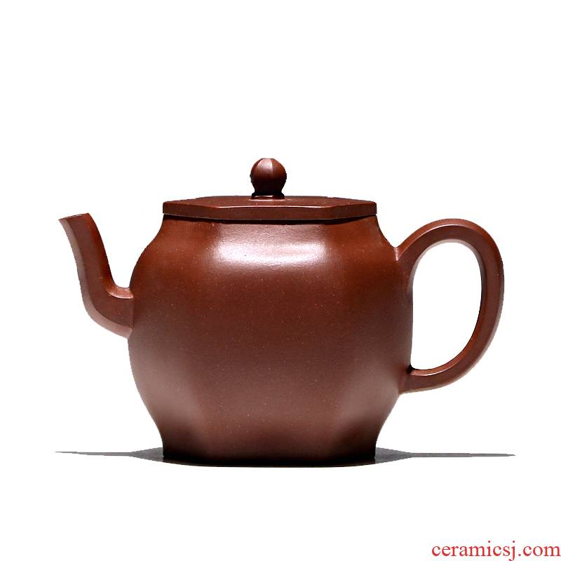 Yixing masters shadow enjoy 】 【 TaoJianChun manual it undressed ore 200 CCCT six - party purple clay teapot tea service
