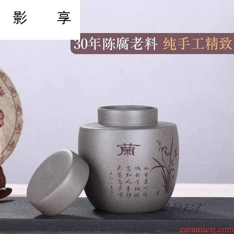Shadow at yixing purple sand tea pot by patterns suits for receives pure manual small wake receives the wind restoring ancient ways the the ZLS (central authority (central authority