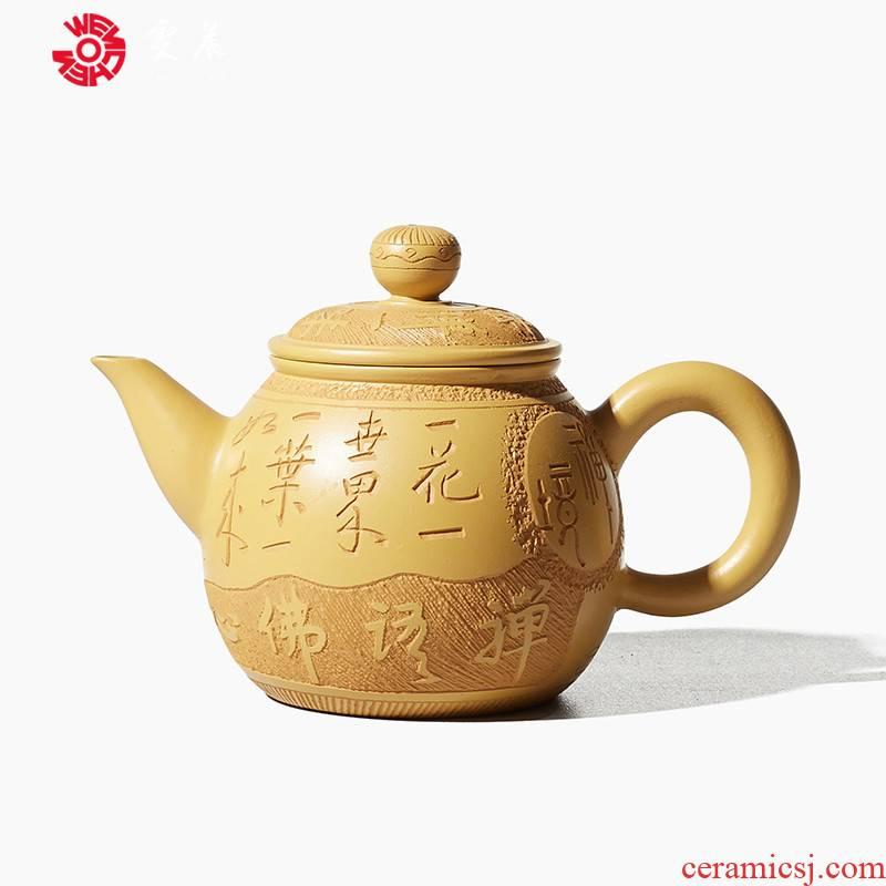 Shadow at home little teapot Chen Dongzhu famous ceramic tea pot - period of mud ore purple sand tea set kung fu tea pot