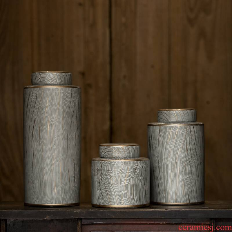 Rain tong home   jingdezhen chinaware paint round ceramic pot home furnishing articles home decoration decoration porcelain