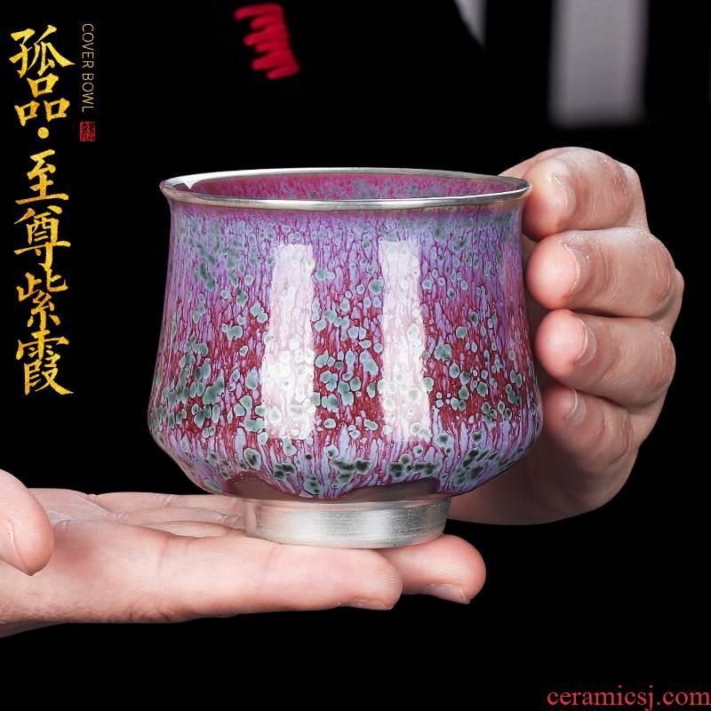 Artisan immortal masterpieces masters cup variable tea tea cups, ceramic cups individual cup of kung fu tea cup single CPU