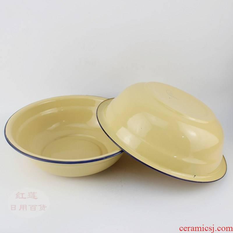 Scene for enamel bowls nostalgic enamel basin more nostalgic old soup basin bowl enamel meal poon choi