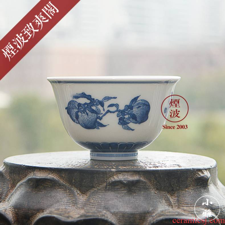Those jingdezhen lesser RuanDingRong lesser sanduo master sample tea cup cup glass