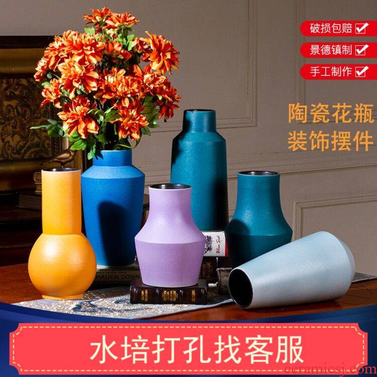 New Nordic style inserted between ceramic vase wind furnishing articles example custom sitting room adornment hydroponic lucky bamboo flowers