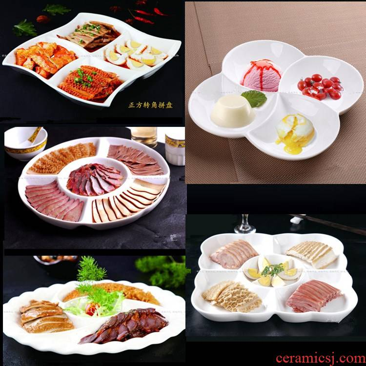 View the best home plate ceramic fruit tray points five frames plates contracted square porcelain dish dish dish dish dish dish