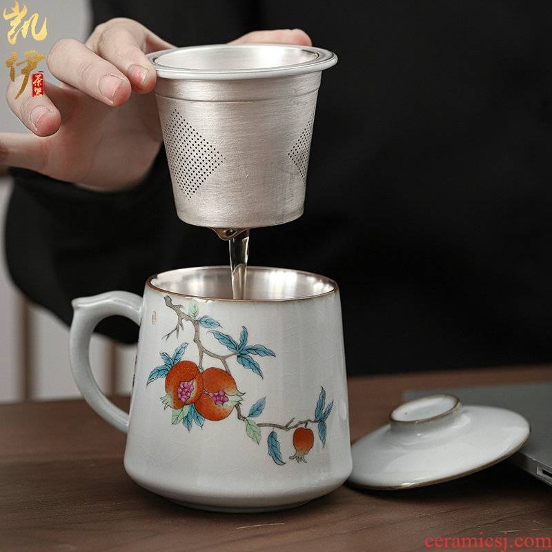 The new office cup dragon Xiu cup on your up kung fu tea cups filter your porcelain glass ceramic cups kung fu tea cups