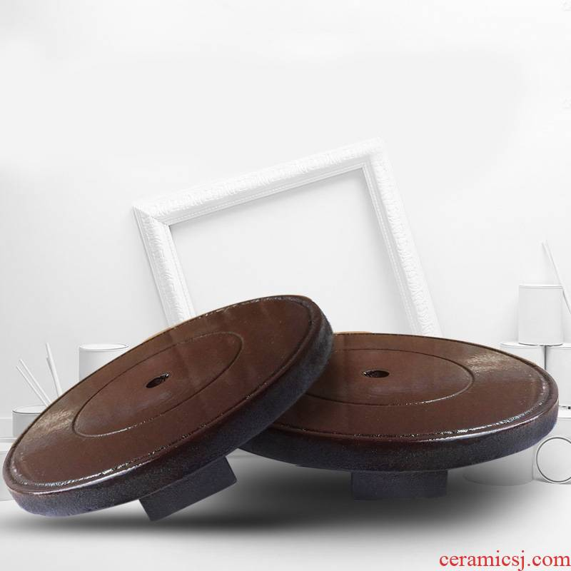 Circular 045 ordinary single - layer base fixed base of density board, home furnishing articles do not in use