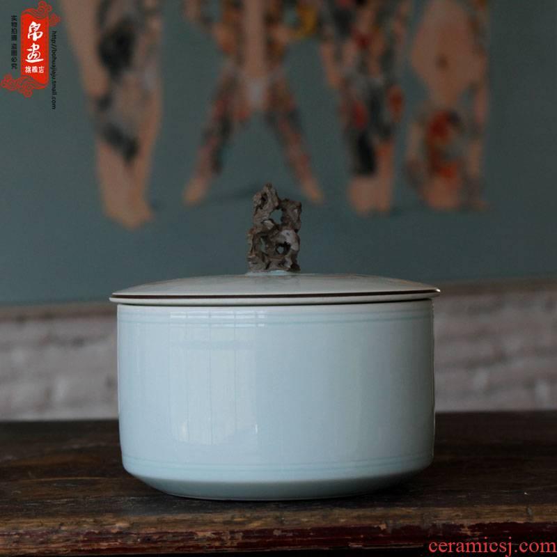 Shadow Shadow enjoy pu 'er tea box | jingdezhen ceramics ceramics celadon porcelain tea pot manually creative tea ware
