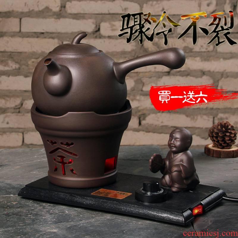 Electric TaoLu kettle archaize ceramic ceramic tea pot - time the tea, the Electric tea stove black tea boiled tea drinks