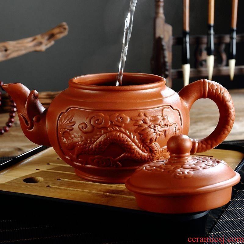 The kitchen ceramic tea pot - pure manual large capacity are it teapot teapot zhu mud tea set suits for large cups