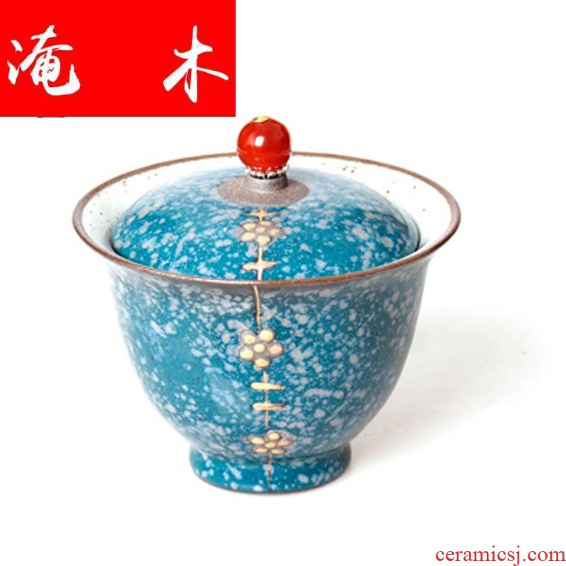 Submerged wood tea friends coarse pottery tureen on ceramic up for ceramic cups large three bowl kung fu tea set