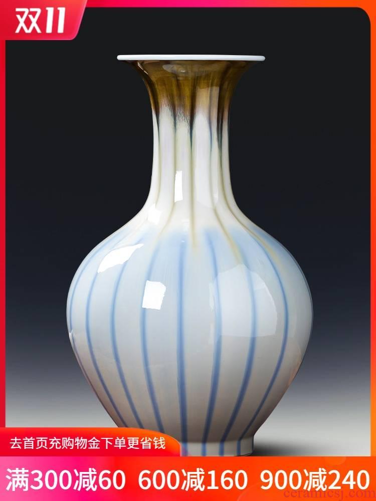 Creative up jingdezhen ceramics vase sitting room of Chinese style household flower arranging TV ark, porch decoration furnishing articles