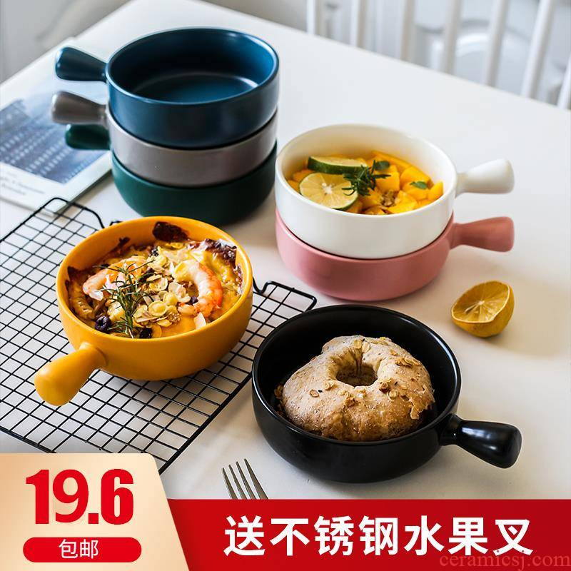 Lovely small bowl of Japanese ceramics single delicate use of creative move household ins web celebrity to use good - & tableware