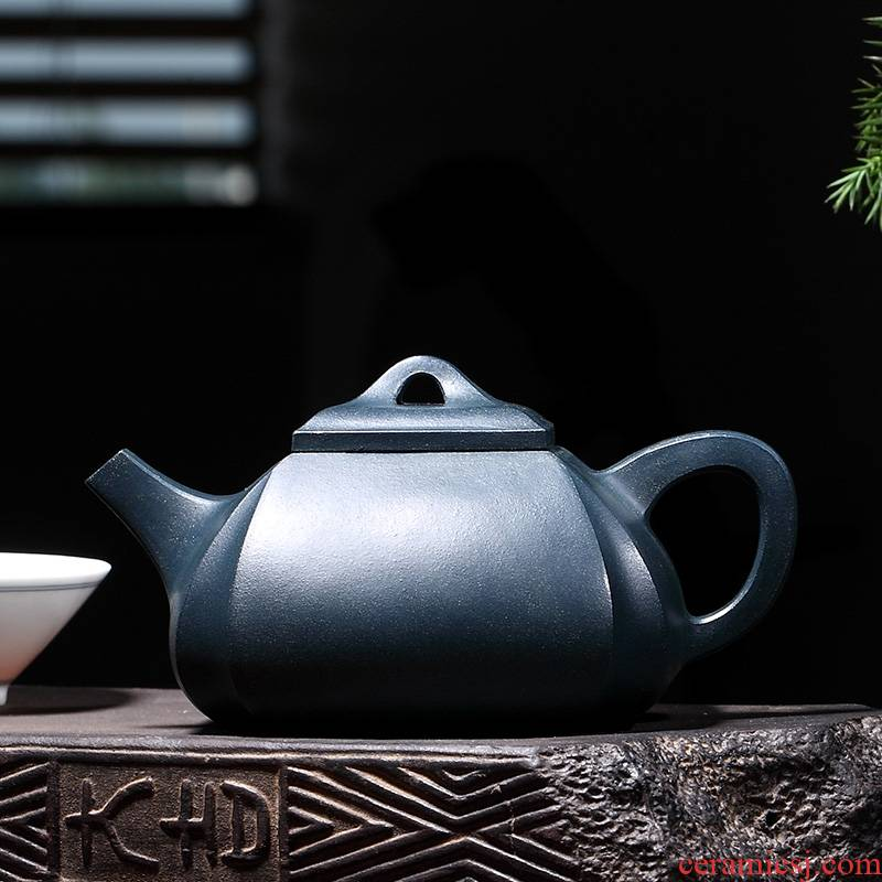 Craftsmen xin - sheng li pure manual shadow enjoy 】 【 the original teapot it chlorite Angle square 350 CCC