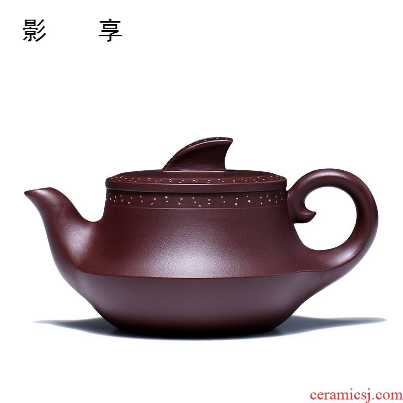 Shadow at yixing masters all hand are it the engineering RuiGuoLiang authentic tea plain sailing GYT the teapot