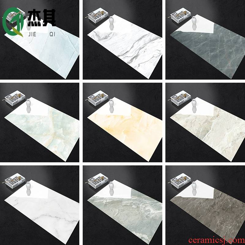 Toilet wall stick is the living room floor tile adhesive stickers ground waterproof decorative imitation marble becomes thickening