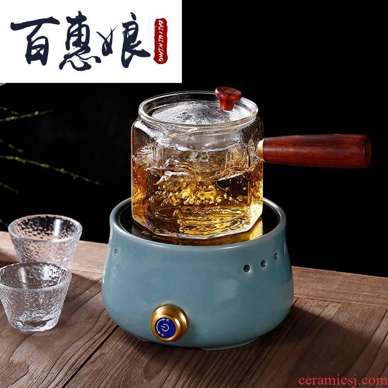 (niang automatic electric TaoLu boiling kettle black tea, white tea tea ware glass ceramic teapot cooked tea stove