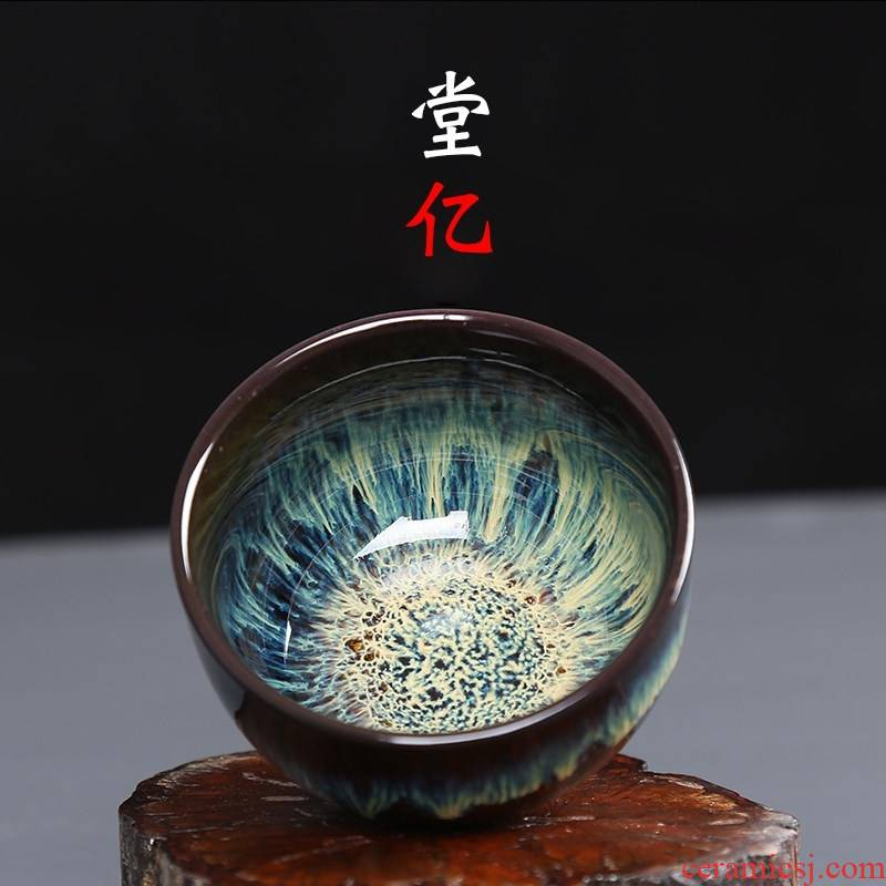 Variable size cup personal kung fu master sample tea cup single CPU Japanese built small ceramic tea light