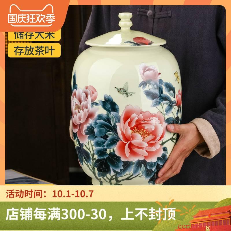 Hand - made ceramic tea pot size in 2 jins tank pu 'er tea pot seal bulk tea urn home