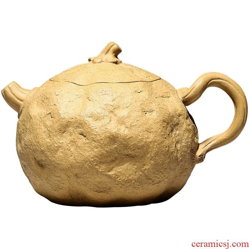 Shadow at yixing famous pure manual it undressed ore section of mud for spring teapot tea HNYY pumpkin