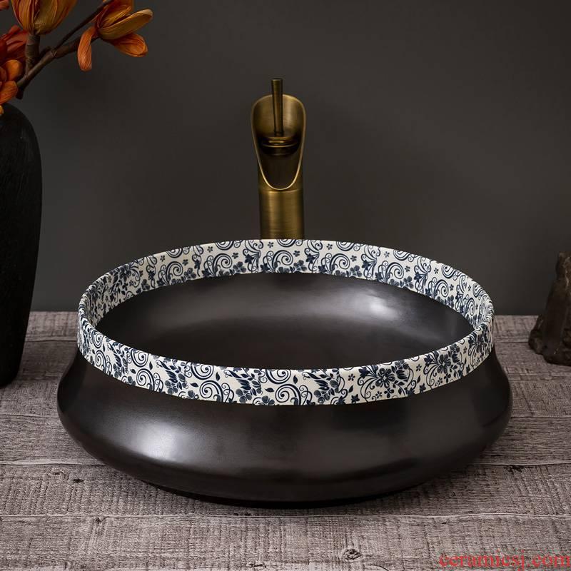 Stage basin balcony home for wash basin ceramic bathroom sinks circular art restoring ancient ways the sink basin