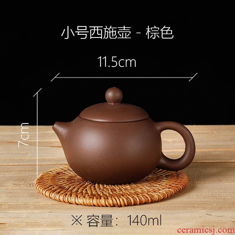 The kitchen chaozhou semi - manual zhu mud are it to filter vesicle west teapot ceramic tea pot set The teapot