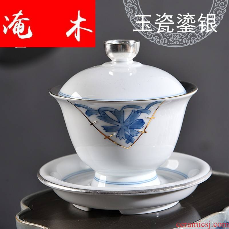 Submerged wood gode jade porcelain coppering. As silver tureen large household tea cups three teapots only white porcelain kung fu tea set