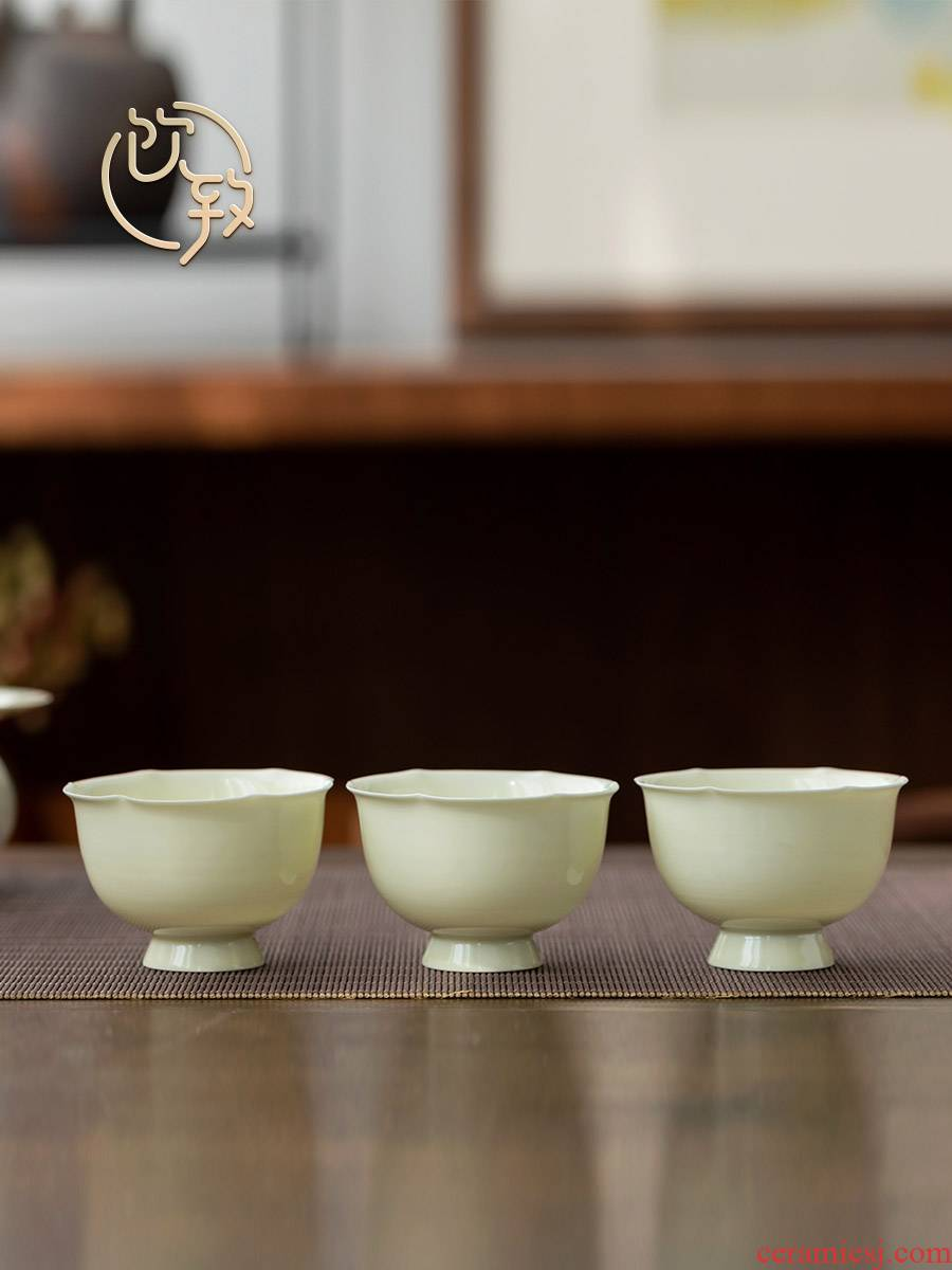Ultimately responds to the secret glaze teacup household ceramic sample tea cup kunfu tea cup large single master cup a cup of tea