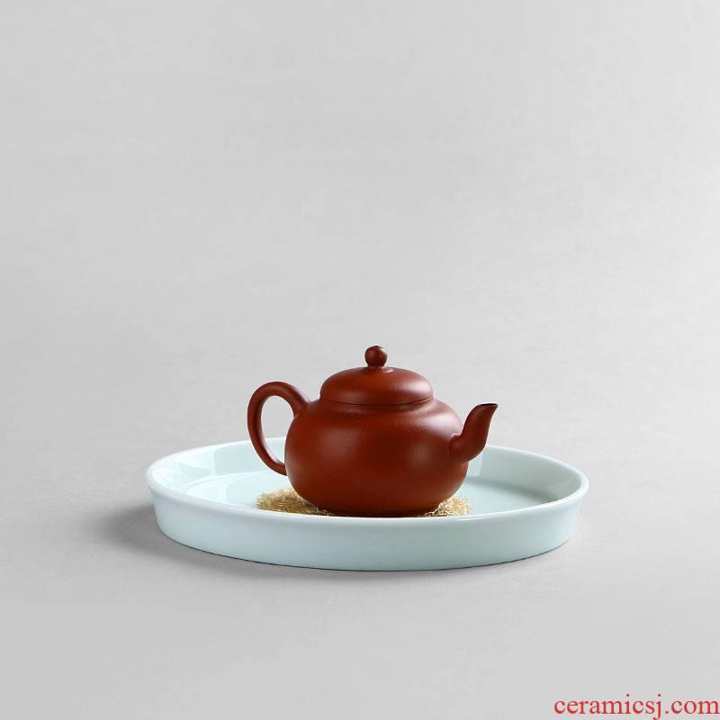 Ultimately responds green tea CiHu socket socket to compote ceramic Japanese tea tray storage dry mercifully zen pot dish of tea tea tray