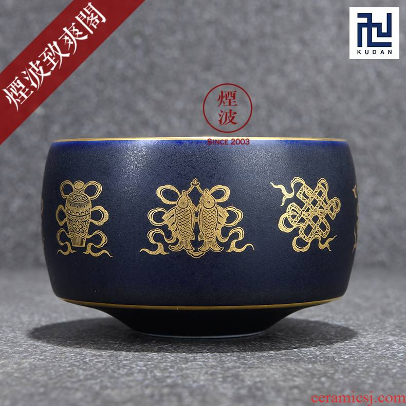Those jingdezhen nine burn fuels the bluestar glaze wonderful hand burnt sweet meditation cup sample tea cup and cup