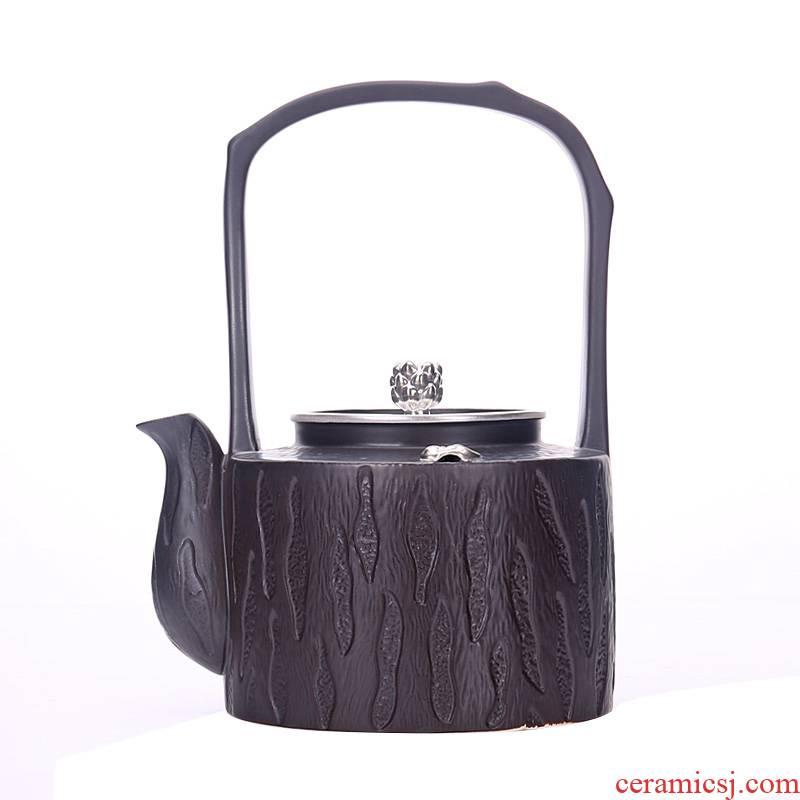 Shadow enjoy tea boiling tea ware ceramic teapot ceramic POTS electric TaoLu not hot kettle girder pot of TF