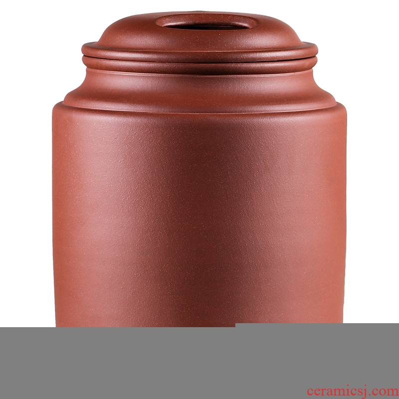 Shadow at yixing purple sand tea pot large tea pu - erh tea storage wake seal pot home bulk gm 5 jins of JH
